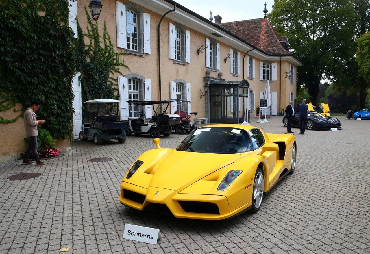 瑞士拍賣赤道畿內亞總統兒子名車,圖為謝斯雷鎮(Cheserex)的Bonmont...