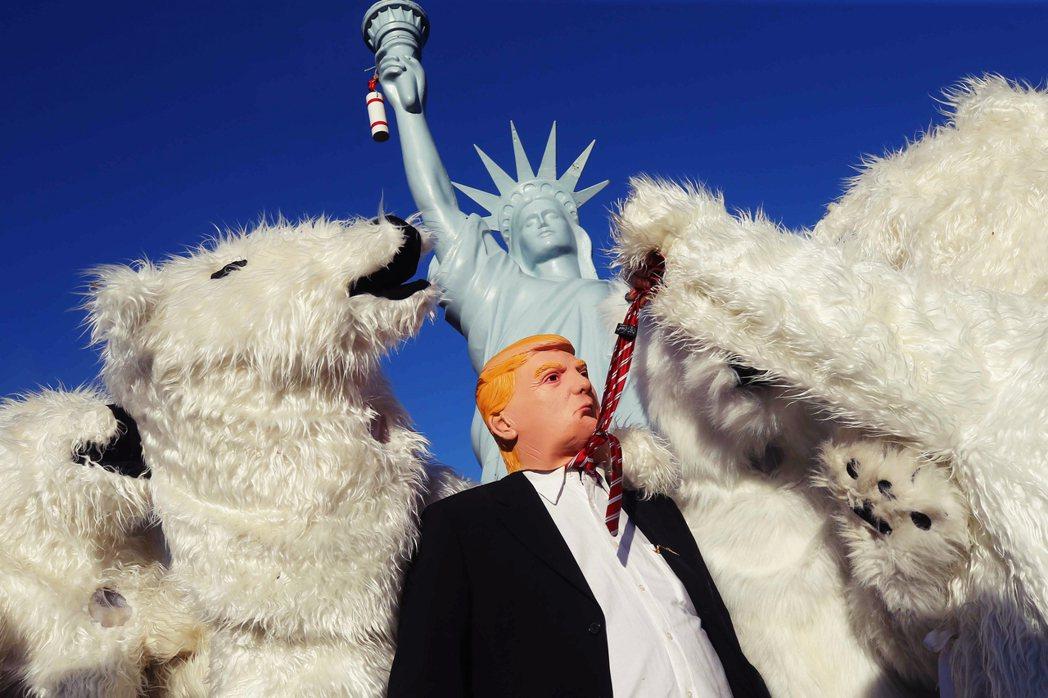 川普2017年上任以來,美國關心氣候變遷議題者,一直處於被動挨打的局面;如今川記...
