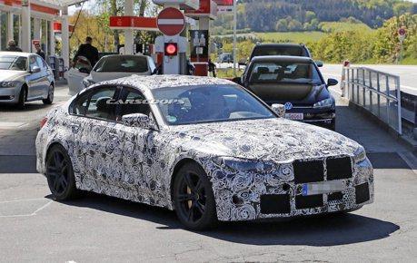 新世代BMW M3紐柏林持續測試中 預計2020年3月投產
