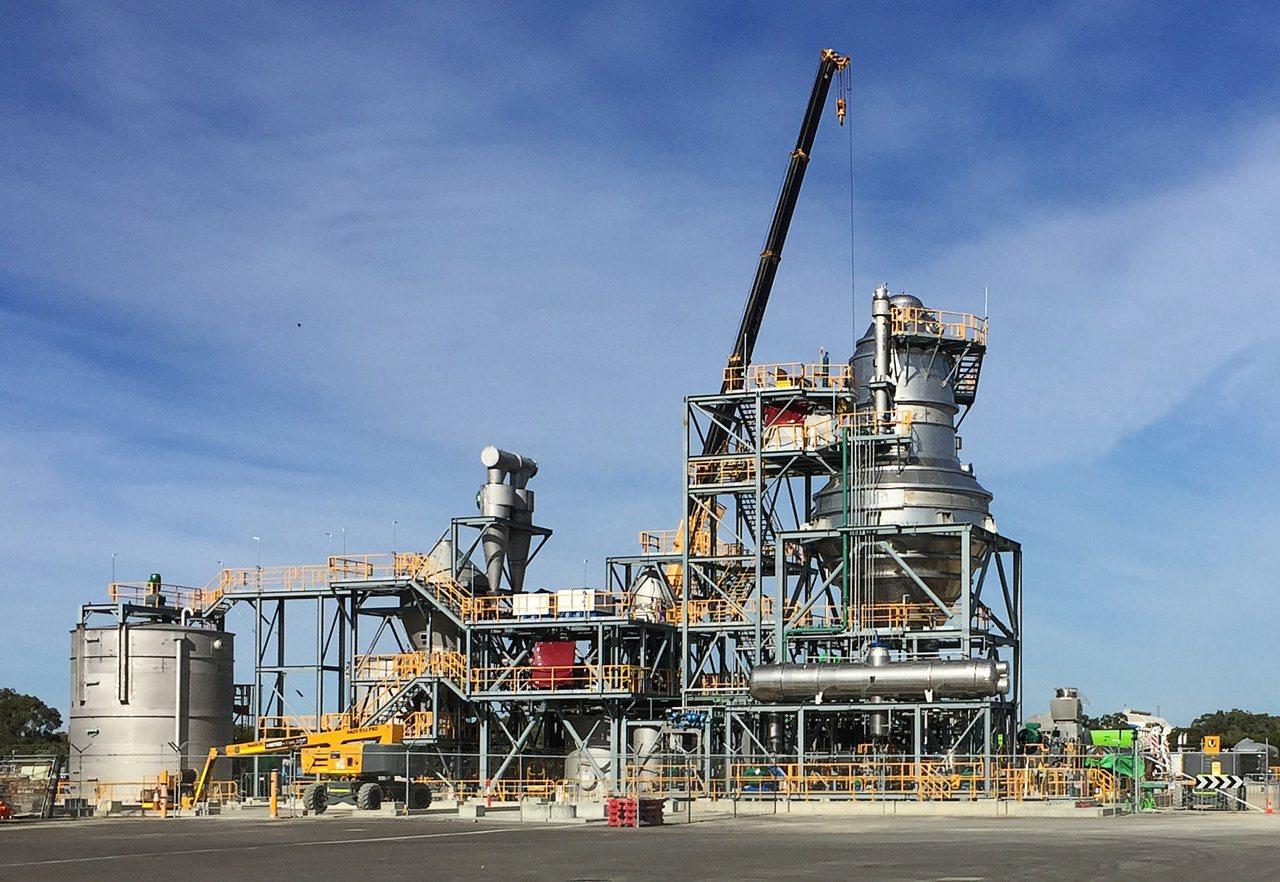 必和必拓旗下Nickel West生產硫酸鎳的工廠。 路透