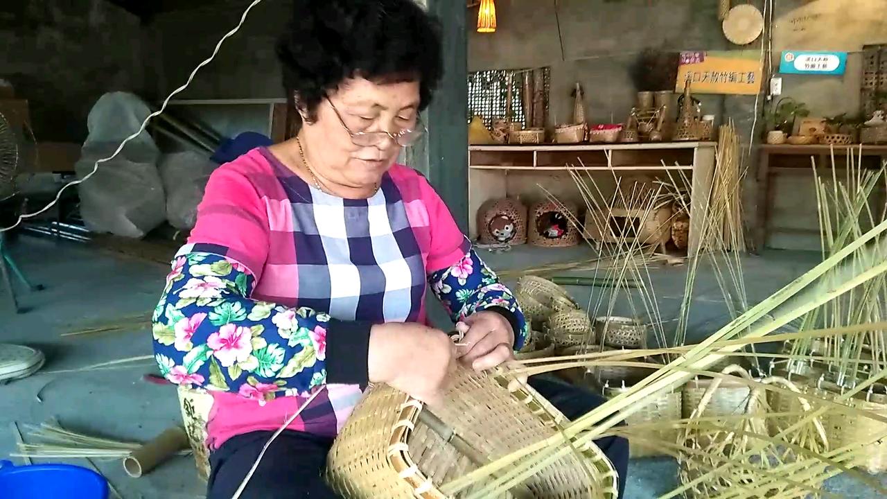 嘉縣傳統竹編工藝 傳承童年回憶