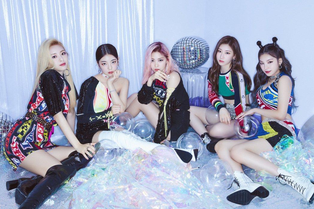 ITZY是韓國新生代女團中的代表組合。圖/紅星娛樂提供