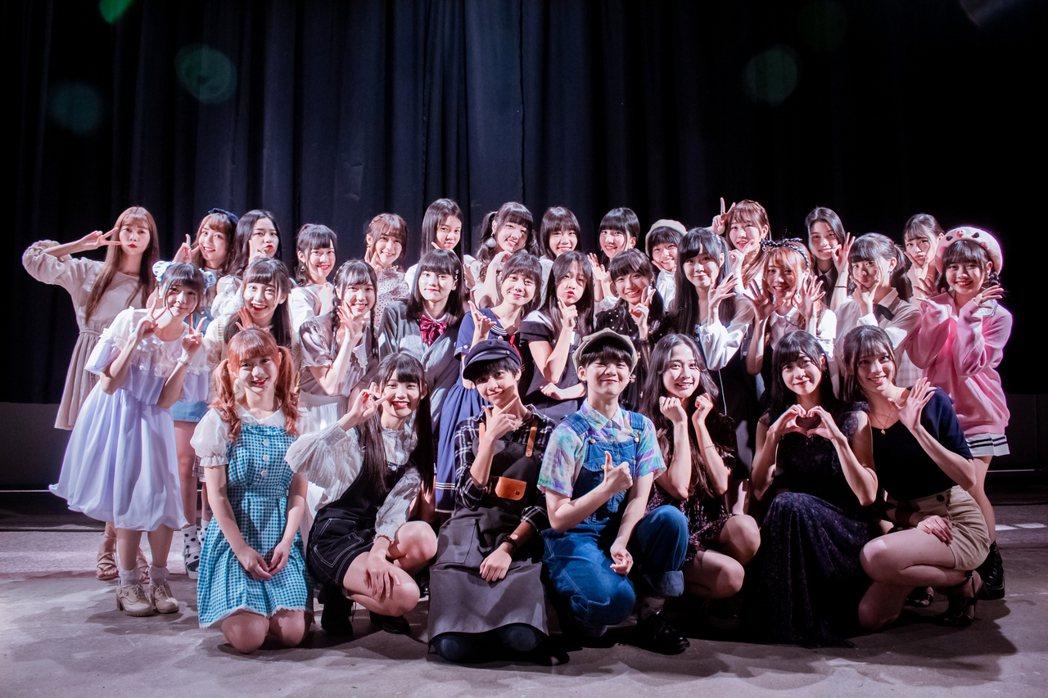 國民女團AKB48 Team TP 29日舉辦握手會。圖/好言娛樂提供