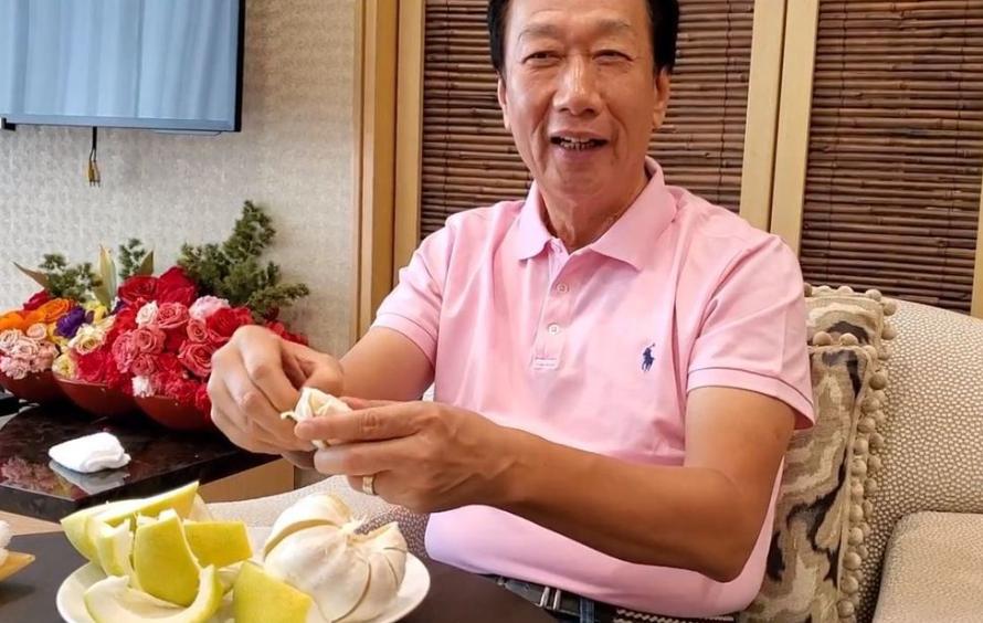 中秋早已過市場還有柚子 農民感謝郭董買百萬斤減滯銷