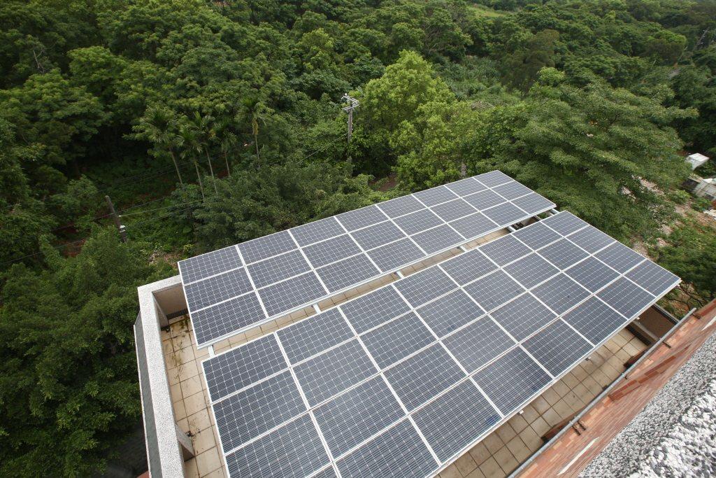 聯合報系願景工程本月廿二日在台北國際會議中心舉辦「永續能源之路高峰論壇」。圖為屋...