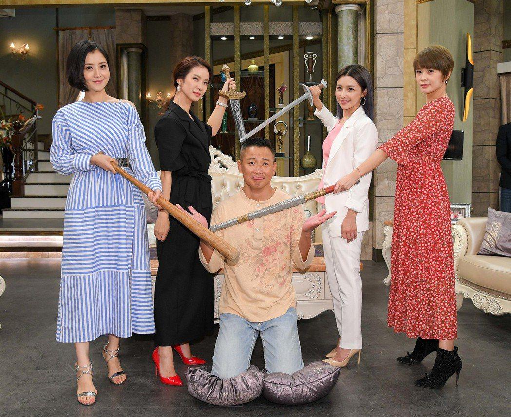 江宏恩飾演的江宏傑在「炮仔聲」劇中慘敗,遭到眾人撻伐。 圖/三立提供