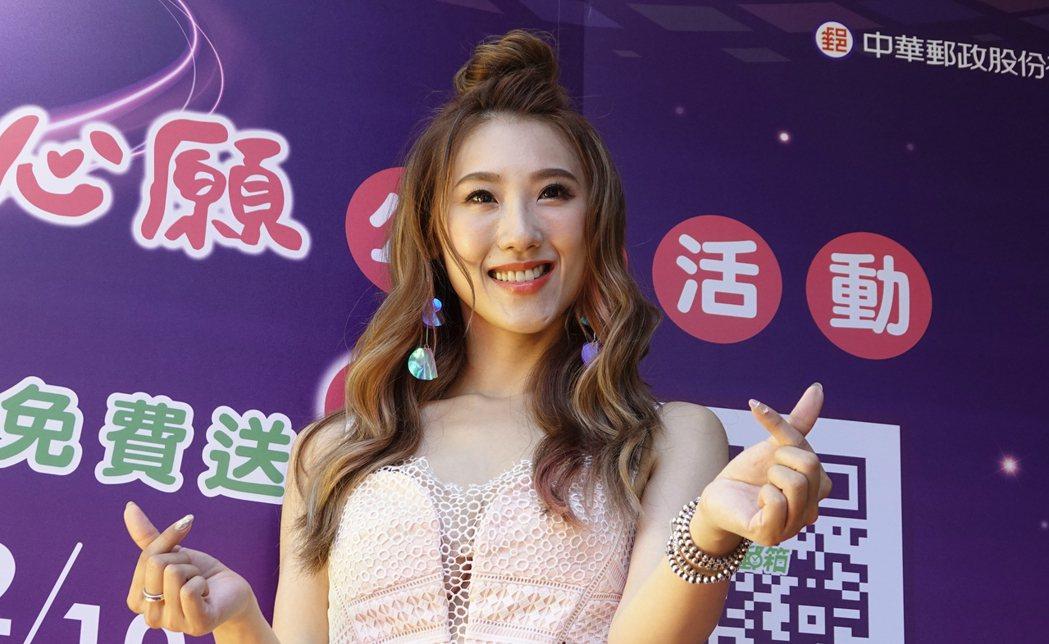 智慧城市168活動開跑媒體座談會記者會下午在台北電影公園舉行,藝人謝金晶帶眾人一