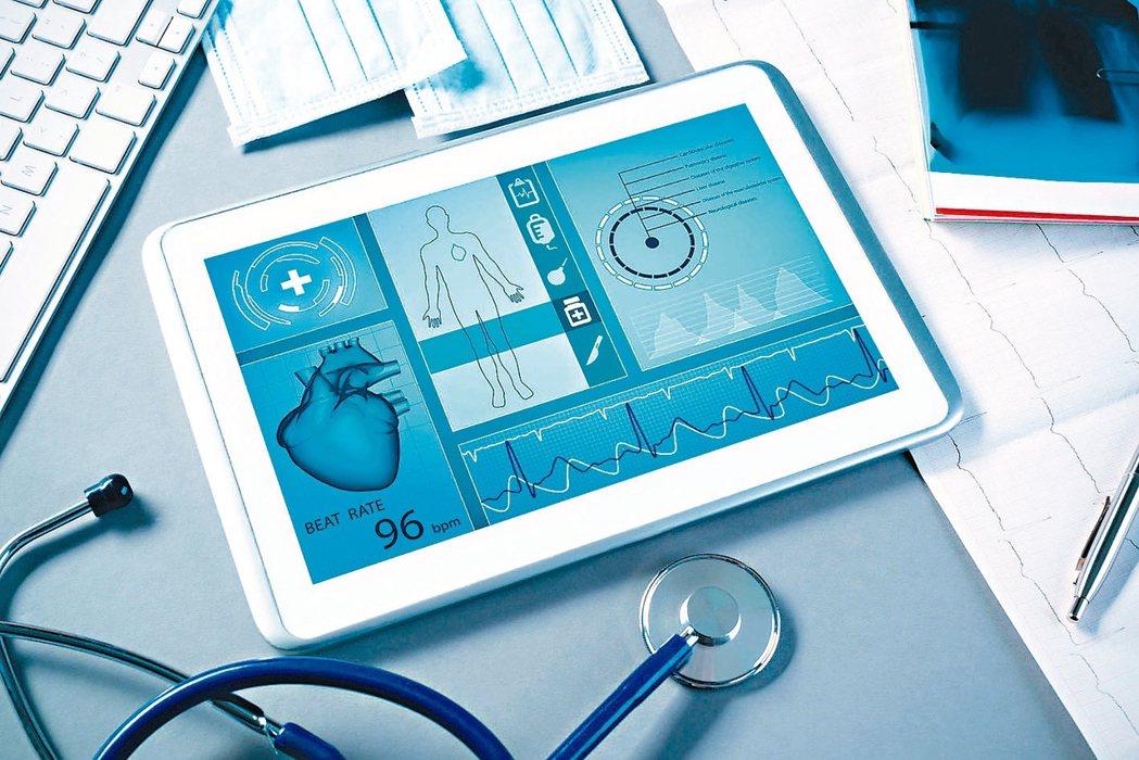 數位醫療正快速崛起。 路透