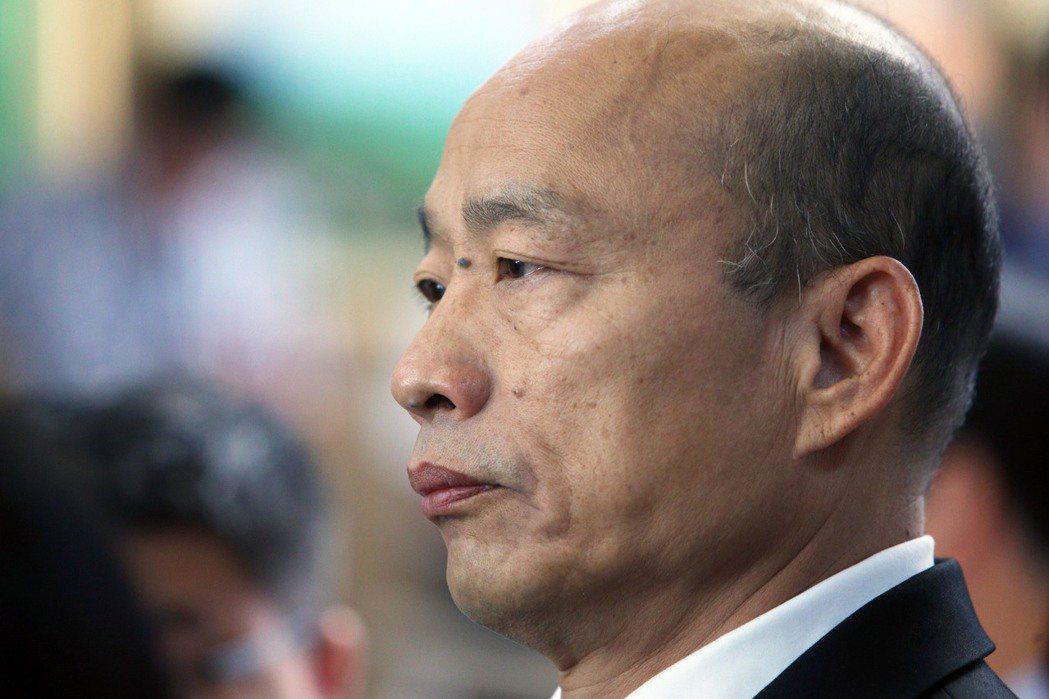 高雄市長韓國瑜。 圖/聯合報系資料照