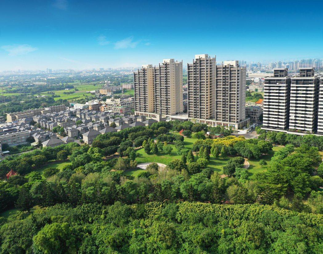 埔頂公園擁有5.5萬公頃的腹地。圖/業者提供