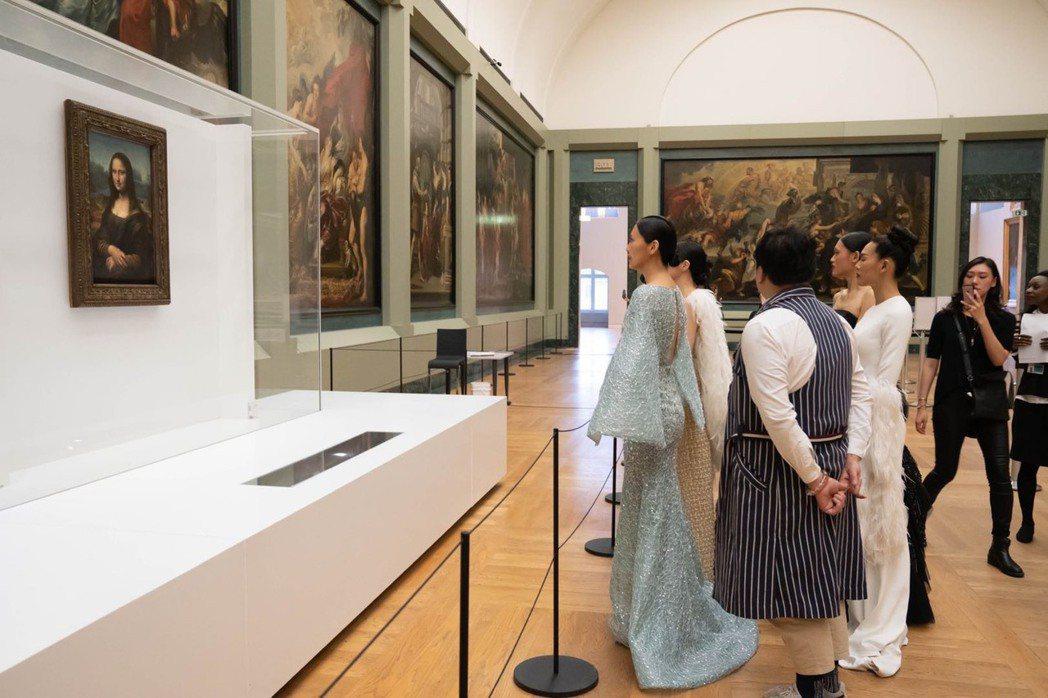西方名畫結合故宮文物時尚封館導覽解說。Channe Company/提供