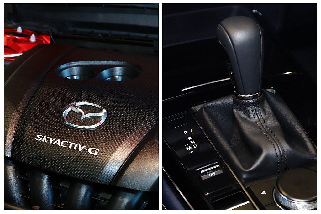 Mazda CX-30搭載SKYACTIV-G 2.0L汽油引擎,日規車型可提供...