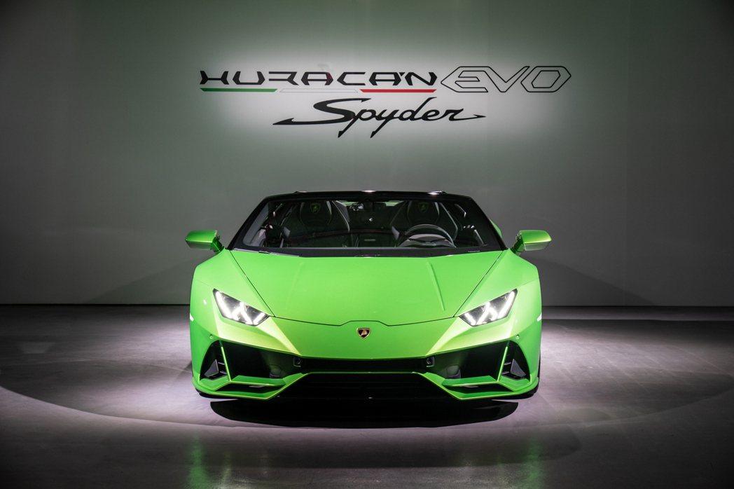Lamborghini Huracán EVO Spyder。 圖/Lambor...