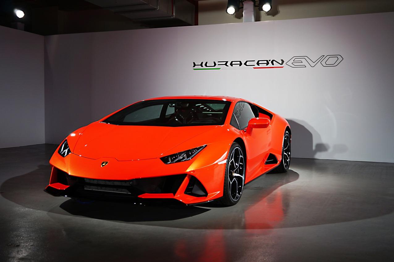 進化革新 終極定義 Lamborghini Huracán EVO /EVO Spyder登臺發表!