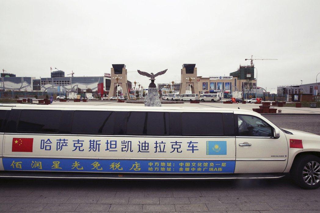 中國影響力長驅直入中亞,長此以往也讓哈薩克產生「恐中症」。圖為哈薩克境內,緊鄰中...