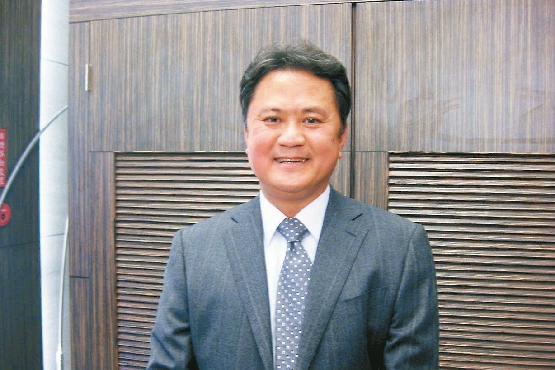 玉晶光董事長陳天慶。報系資料庫