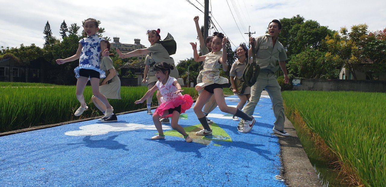 國慶連假台中眷村文化節 空軍記憶竹籬笆的故事起飛