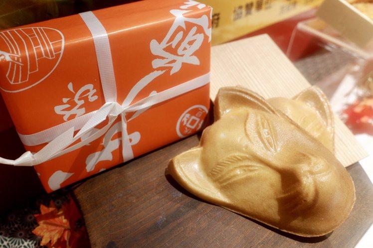 いなりや稻荷仙貝,185元 (3入)。記者江佩君/攝影