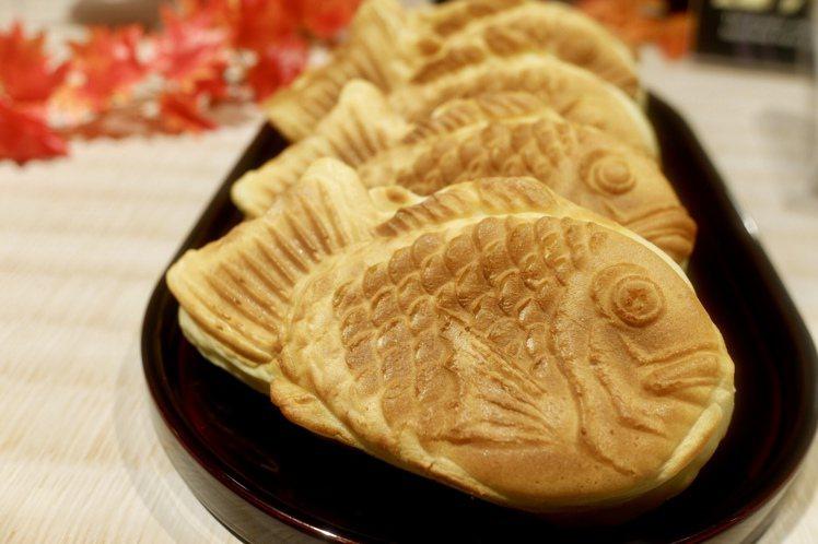 幸福屋紅豆鯛魚燒,每份50元。記者江佩君/攝影