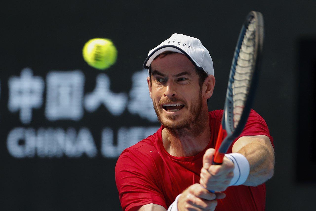 墨瑞打進北京網賽8強。 美聯社