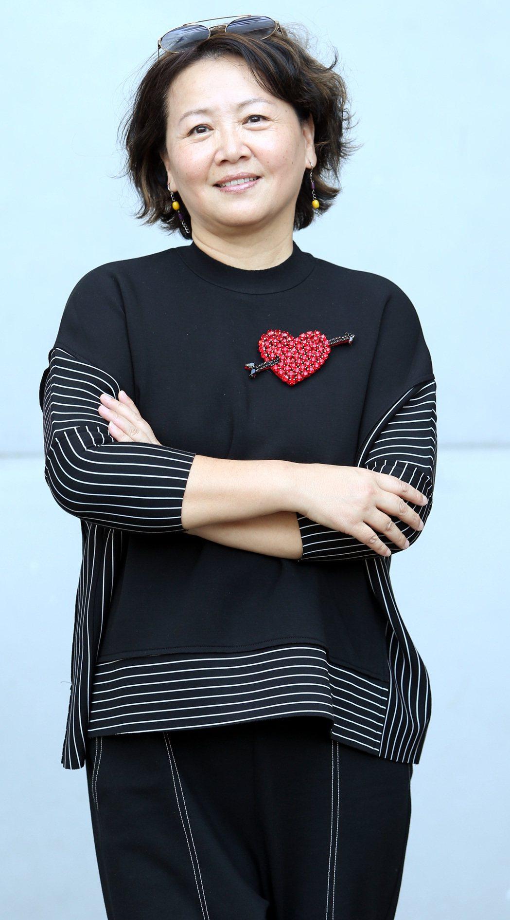 王琄以「媽媽桌球」入圍金鐘迷你劇集最佳女主角。記者侯永全/攝影