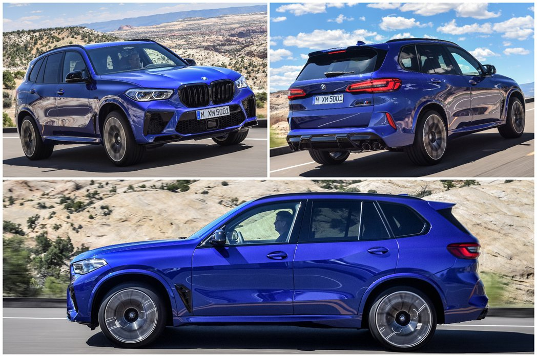 新世代BMW X5 M (F95)。 摘自BMW