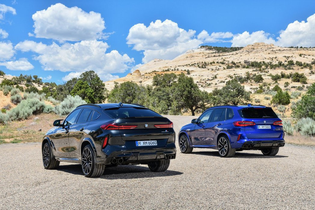 新世代BMW X5 M (F95) 與X6 M (F96) 在今日(2)於官方新...
