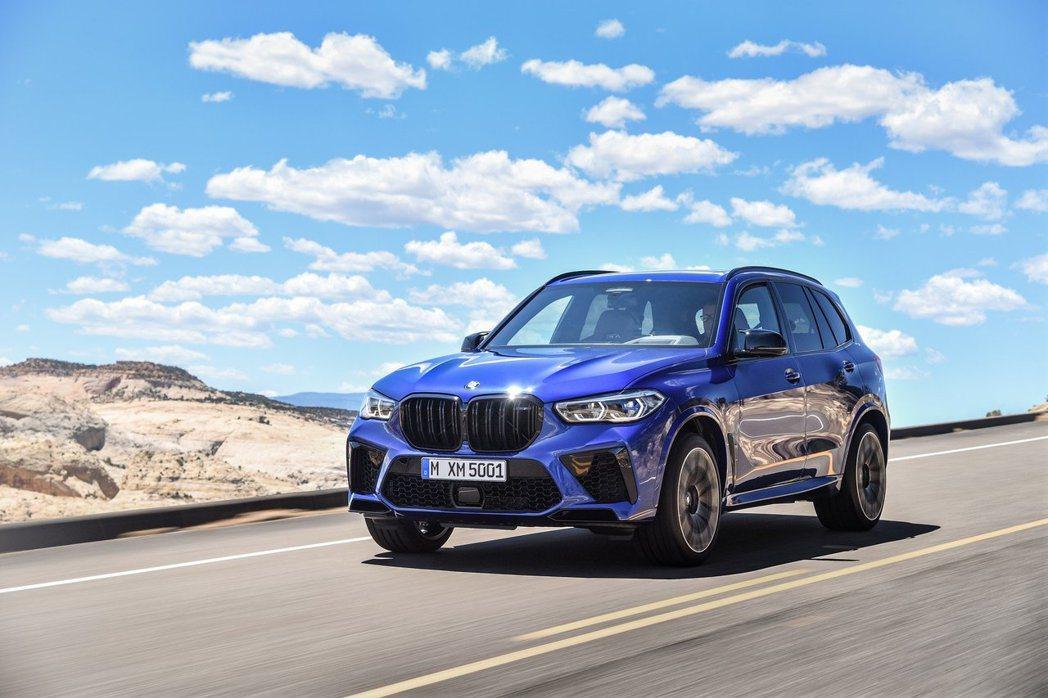 新世代BMW X5 M (F95) 最大馬力可達600hp/76.5kgm。 摘...