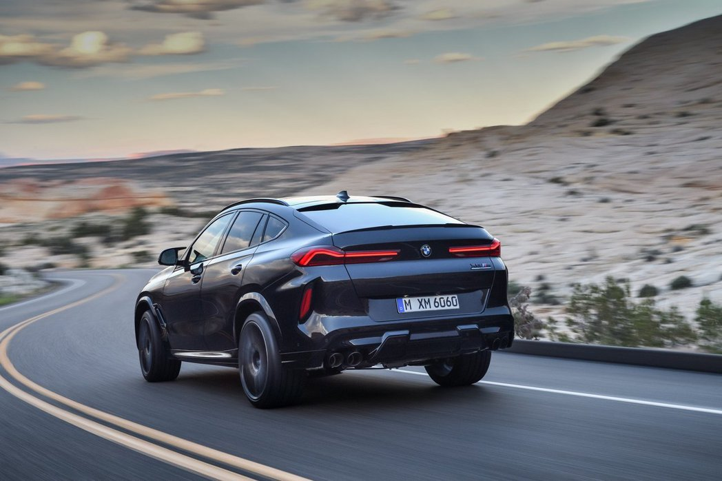 全新BMW X6 M (F96) Competition最大馬力可達到625hp...