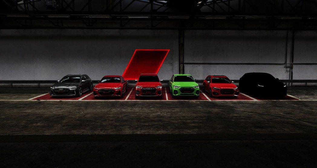 Audi曾表示要於2019年推出六款全新RS車型,而最後一款款RS性能車及式全新...