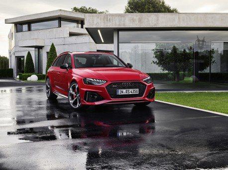 小改款Audi RS4 Avant亮相 根本就是小尺寸的RS6 Avant!