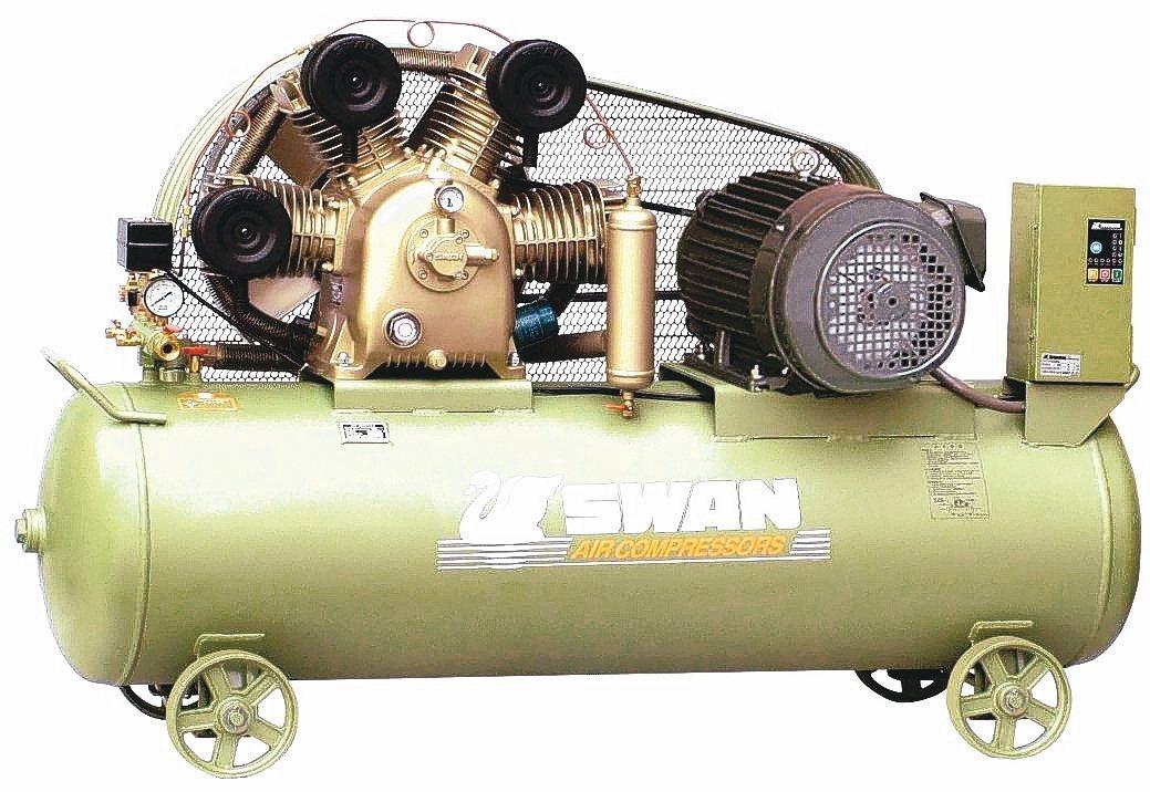 東正鐵工廠SWAN天鵝牌空氣壓縮機,高效節能首選。 東正鐵工廠/提供