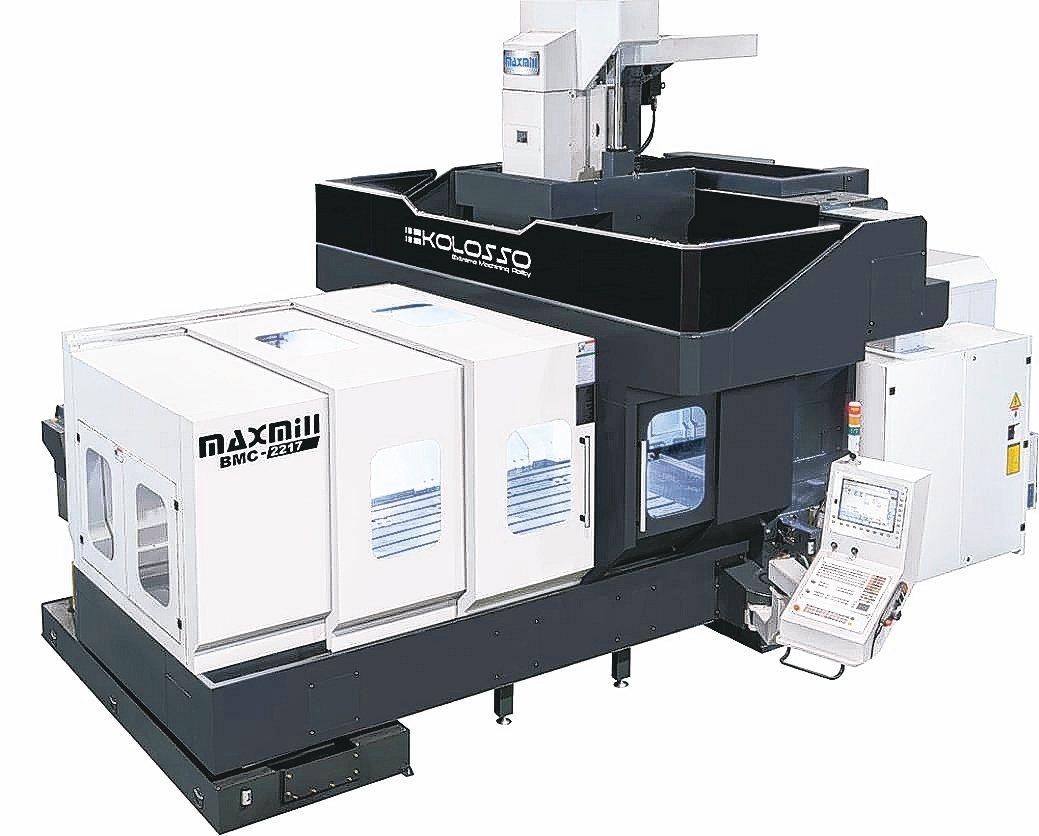 仕元機械產製KOLOSSO系列龍門型加工中心機供應業界。 仕元機械/提供