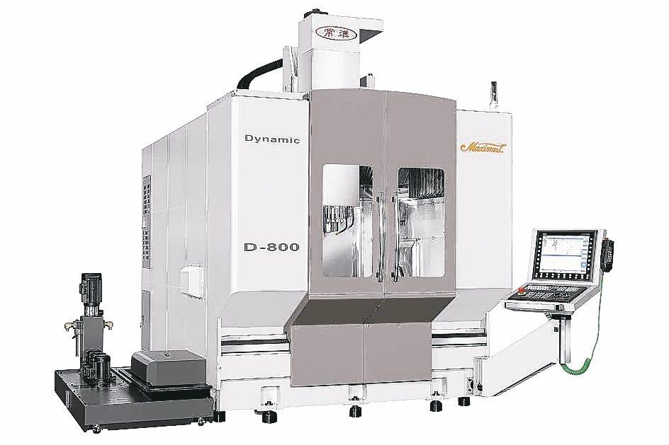常銘「Maximart常準」D-800T一部性能優異的五軸銑車加工機,應用德國K...