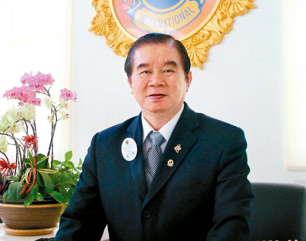 富偉科技集團總裁蕭文龍。 戴辰/攝影