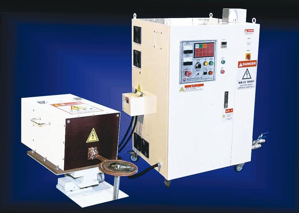 緻鎰公司新推出的晶體式高週波金屬加熱機應用範圍廣,功能強大。 緻鎰公司/提供