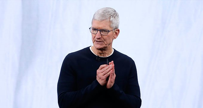 蘋果公司執行長庫克。 路透