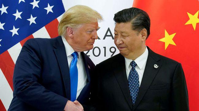 今年6月,美國總統川普(左)與中國國家主席習近平在日本大阪G20峰會上會面。圖/...