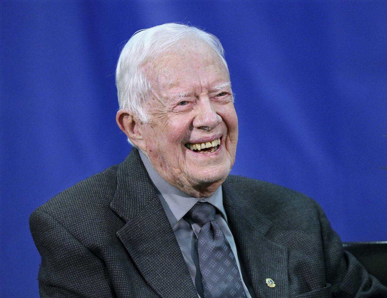前美國總統卡特1日過95歲生日,成為美國第一位活到95歲的總統。 美聯社