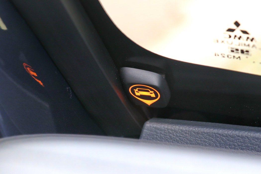 廂車自排車型再增加BSW車側盲點及RCTA後方交通警示。 記者陳威任/攝影
