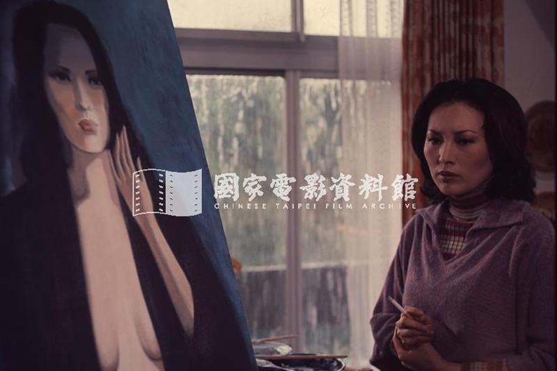 因瓊瑤對選角的反彈,致使秦雨秋這個角色在拍攝期間,包括導演李行還有李湘本人,無不戰戰兢兢。 圖/國家電影資料館