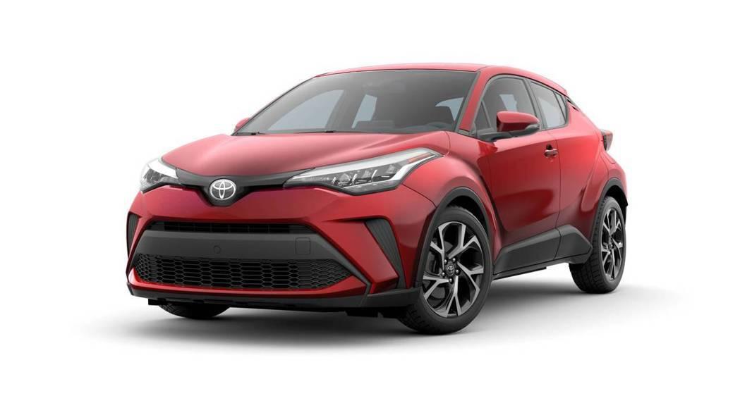 2020年式、小改款美規Toyota C-HR。 摘自Toyota