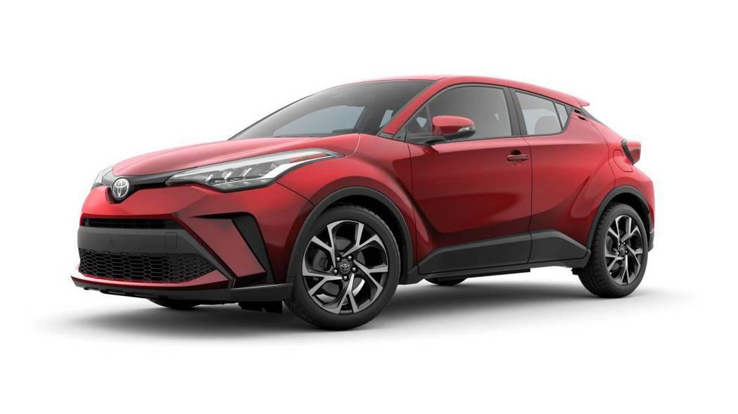 小改款美規Toyota C-HR外型小針美容。 摘自Toyota