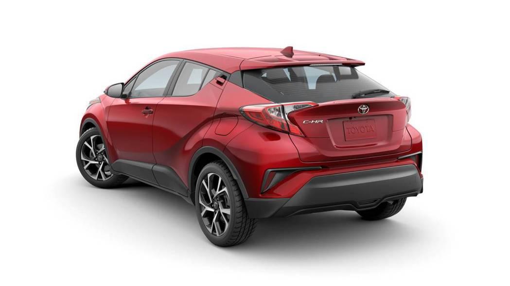 小改款美規Toyota C-HR。 摘自Toyota