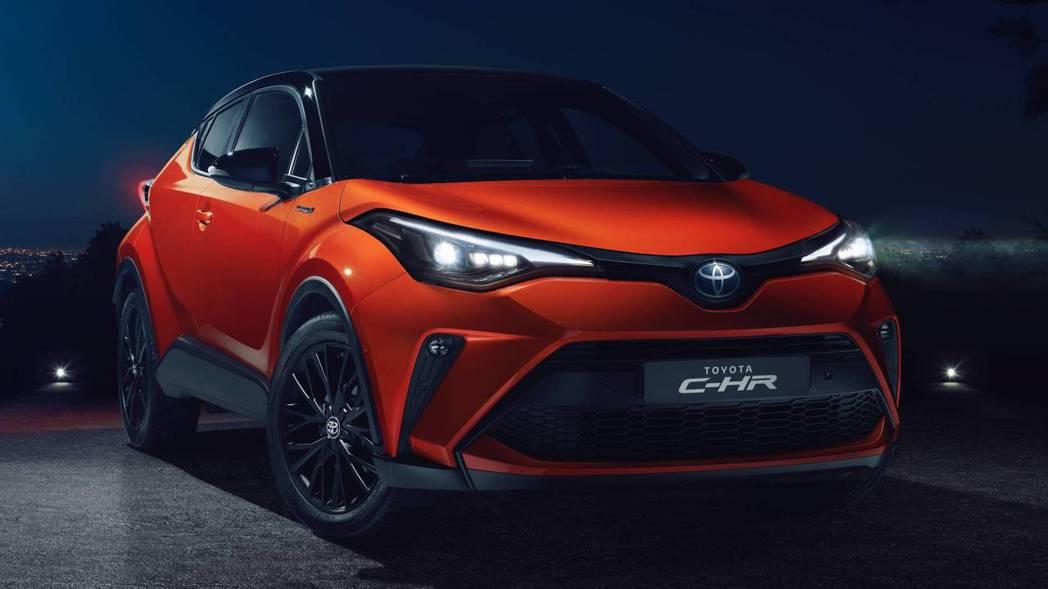 小改款歐規Toyota C-HR。 摘自Toyota