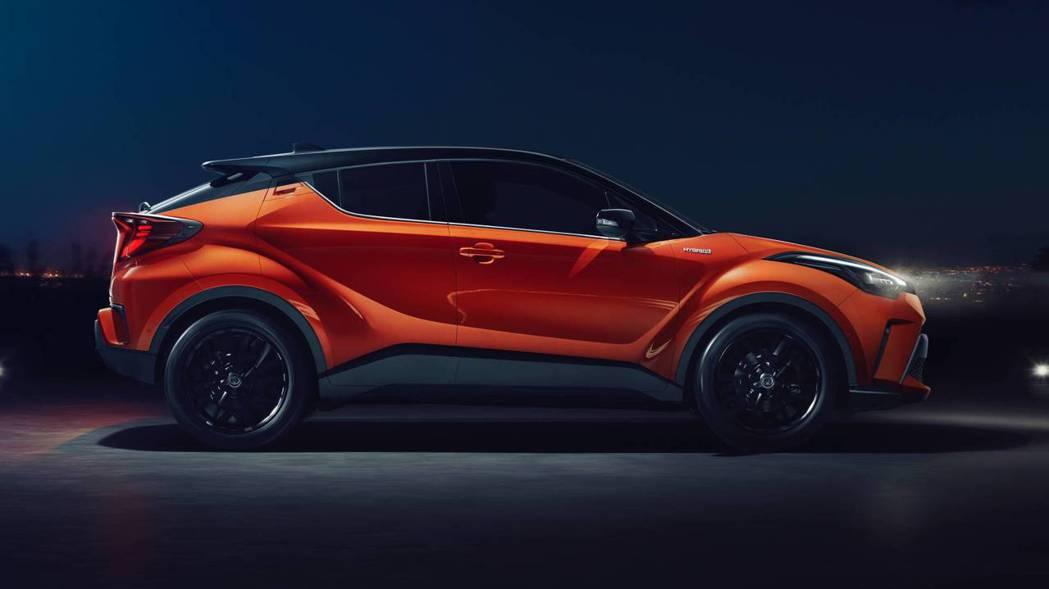 小改款美規Toyota C-HR導入TSS主動式安全防護系統。圖為歐規車型。 摘...