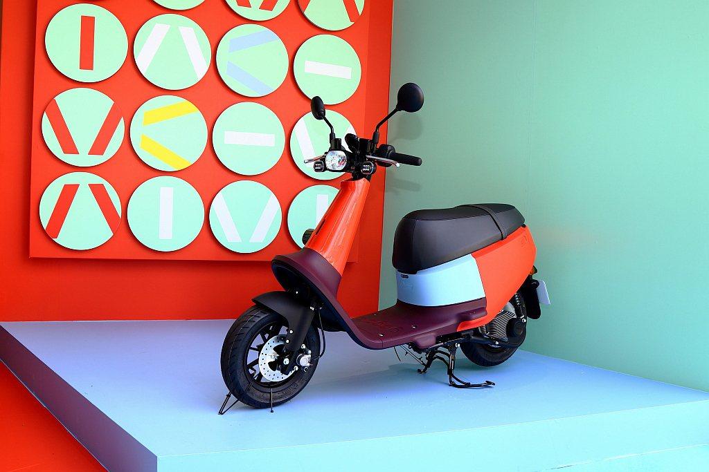 Gogoro VIVA發表,立刻替台灣電動機車市場注入新氣象。 記者張振群/攝影