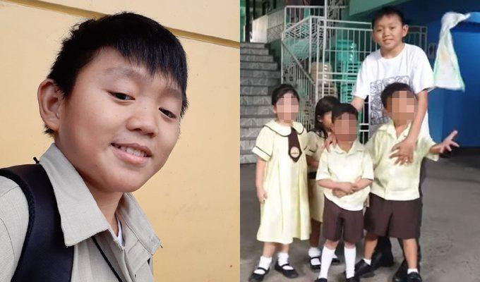 菲律賓一名22歲的小學老師伊恩(Ian Francis Manga)有一張超級娃...
