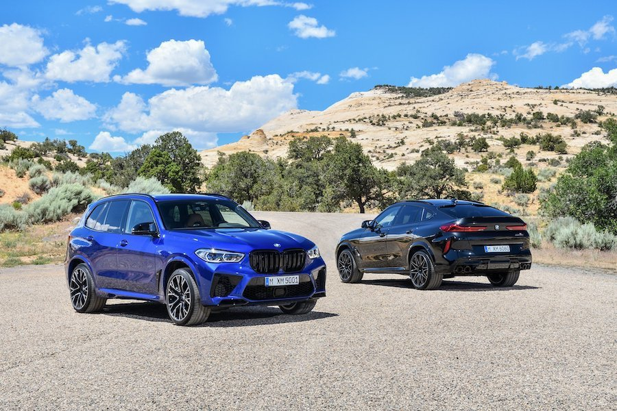 新世代BMW X5 M (F95) 與X6 M (F96)。 BMW提供