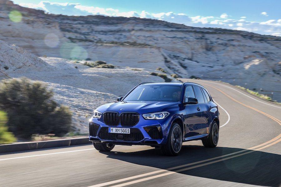 新世代BMW X5 M (F95)。 BMW提供